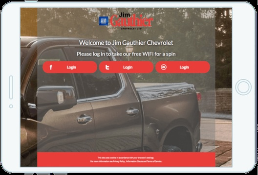 Chevrolet hits top gear with Social WiFi
