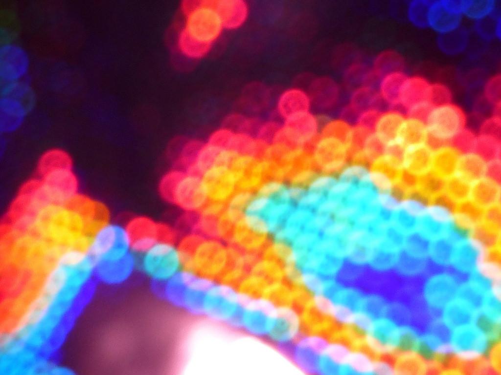 various colors resemling a heatmap
