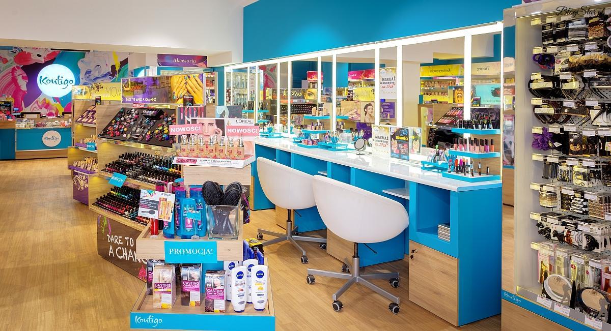 kolorowe wnętrze sklepu Kontigo
